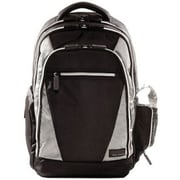 Eco Style EVOY-BP17 Sports Voyage Backpack For 17.3 Notebook, Black/Platinum