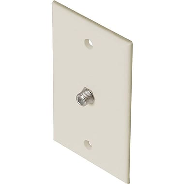 STEREN® 200-251 TV Wall Plate, Light Almond