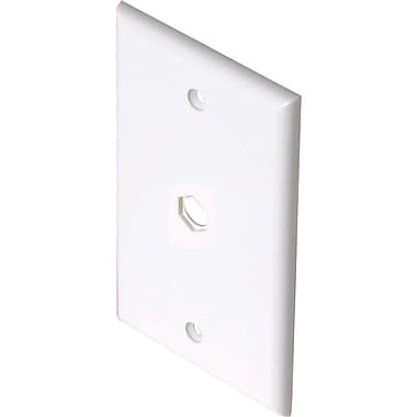 STEREN 200-254 TV Wall Plate, White