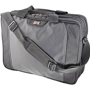 SwissGear® WA-7644-14F00 Pillar Carrying Case For 16in. Laptops, Black/gray