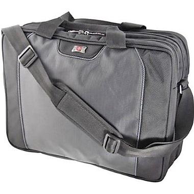 SwissGear® WA-7644-14F00 Pillar Carrying Case For 16in. Laptops, Black/gray
