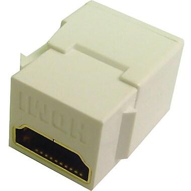 Calrad® 28-166K HDMI Keystone Insert, White