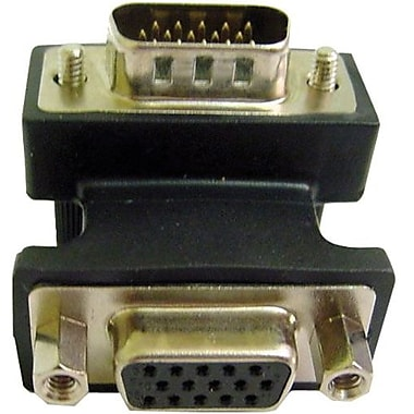 Calrad® 35-704A VGA Male To Female Right Angled Video Adapter
