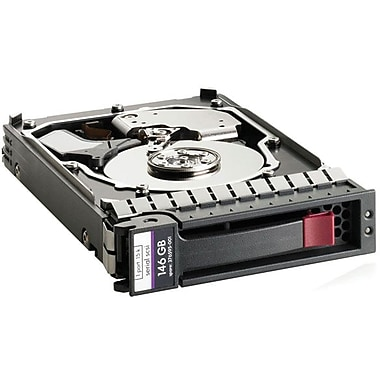 HP® 146 GB SAS (6 Gb/s) 15000 RPM 2 1/2in. Internal Hard Drive (652605-S21)