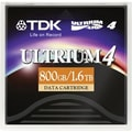 TDK  48989 LTO Ultrium 4 Data Cartridge, 800 GB (Native)/1.60 TB (Compressed)