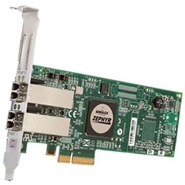 Emulex® LightPulse E11002-E 4 GB Dual Port Fibre Channel Host Bus Adapter