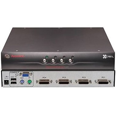 Avocent® SwitchView™ SC140-001 SC 100/200 Secure Desktop KVM Switch, 4 Ports