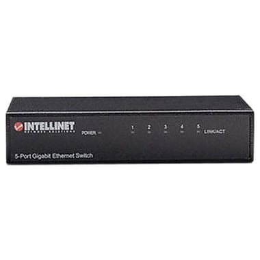 INTELLINET™ 530378 Office Ethernet Switch, 5 Ports