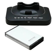 Premiertek MP-2010 Portable HDD Enclosure and Multimedia Player With Docking Station