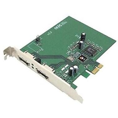 Siig® 2 Port eSATA II PCIe Pro Controller Card (SC-SAE412-S3)