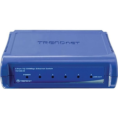 TRENDNET  TE100-S5 Ethernet Switch, 5 Ports