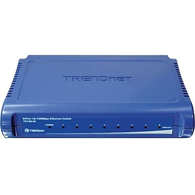 TRENDNET  TE100-S8 Ethernet Switch, 8 Ports