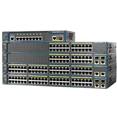 Cisco® 2960-48TT-S Ethernet Switch, 48 Ports
