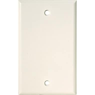 STEREN 200-258 TV/Telephone Wall Plate, White