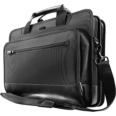 Lenovo 43R2476 ThinkPad Business Topload Case For 15.4in. Notebooks, Black