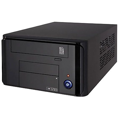 Apex® MI-008 Mini-ITX Tower Computer Case, Black