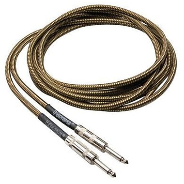 Hosa Technology GTR-518 Straight to Same Tweed Guitar Cable, 18'(L)