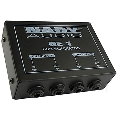 Nady HE-1 Hum Eliminator, 20 HZ to > 20 kHz