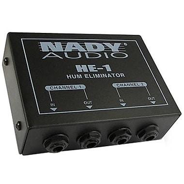 Nady HE-1 Hum Eliminator, 20 HZ to > 20 kHz