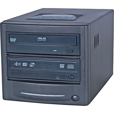 EZDupe LSLGNB1 Single Target Standalone CD/DVD Duplicator