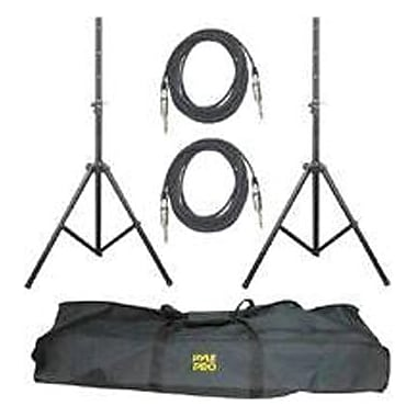 Pyle PMDK-102 Pro-Audio Speaker Stand And Cable Kit