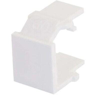 C2G® 03820 Snap-In Blank Keystone Insert Module, White