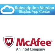 McAfee SaaS Endpoint Protection Advanced Security and antivirus (cloud  software)