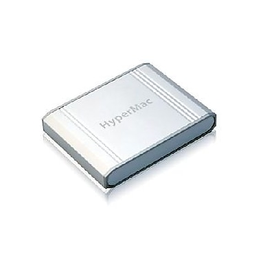 HyperJuice™ MBP-060 External Battery For Apple iPad, iPad 2, iPhone, Macbook, Silver