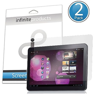 Infinite Products GT10 DeflectorShield Screen Protector Film For Samsung Galaxy Tab 10.1, Clear