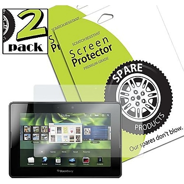 Spare Products SP00002 Screen Protector For BlackBerry Playbook, Clear