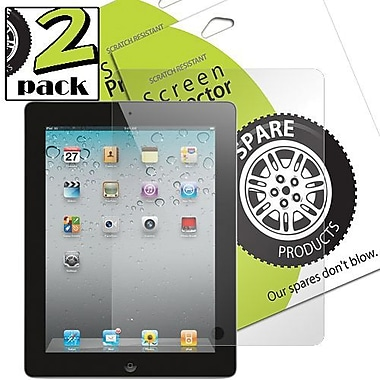 Spare Products SP00195 Screen Protector For iPad2 and iPad, Clear
