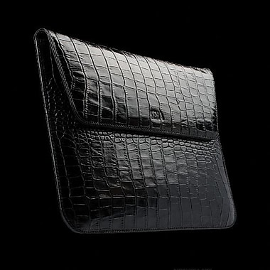 Sena 161516 Executive Leather Sleeve For Apple iPad 2, iPad 3rd Generation, Croco Black