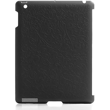 Bluelounge® SL-2F Shell Flower Hard Case For Apple iPad 2, Black