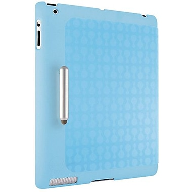 Ozaki® IC502 iCoat Slim-Y+ Hard Case and Cover For Apple iPad 2, 3 and iPad 4th Generation, Blue