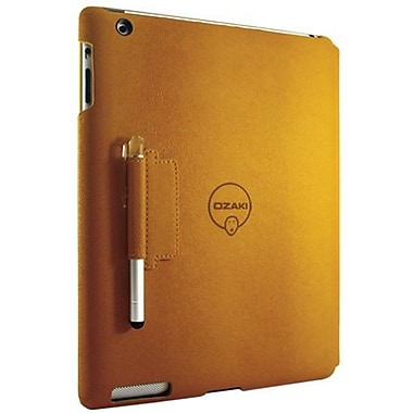 Ozaki® IC509 iCoat Notebook+ Folio For Apple iPad 2, iPad 3 and iPad 4th Generation, Yellow