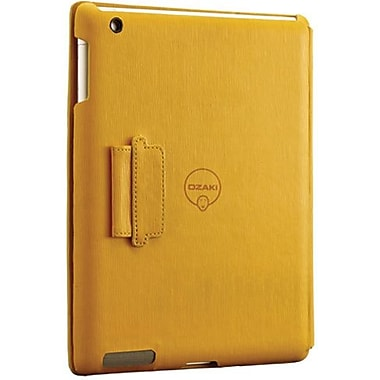 Ozaki® IC510 iCoat Notebook Folio For Apple iPad 2, iPad 3 and iPad 4th Generation, Yellow