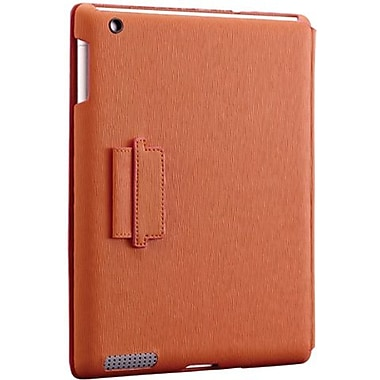 Ozaki® IC510 iCoat Notebook Folio For Apple iPad 2, iPad 3 and iPad 4th Generation, Orange