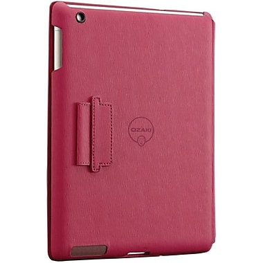 Ozaki® IC510 iCoat Notebook Folio For Apple iPad 2, iPad 3 and iPad 4th Generation, Pink