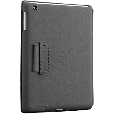 Ozaki® IC510 iCoat Notebook Folio For Apple iPad 2, iPad 3 and iPad 4th Generation, Gray