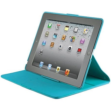 Spare Products  FitFolio Hybrid Folio For Apple iPad 2, iPad 3 and iPad 4th Generation, Peacock
