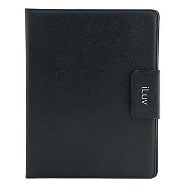 iLuv® iCC831 Ulster Folio Case For Apple iPad 3rd Generation, Black