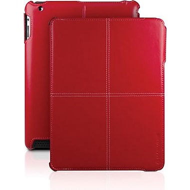 MarWare® AHHB17 C.E.O. Hybrid Folio Case For Apple iPad 2, iPad 3rd Generation, Red
