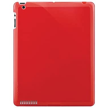 SwitchEasy™ SW-NUIP3 Nude Slim Case For Apple iPad 2, iPad 3rd Generation, Red