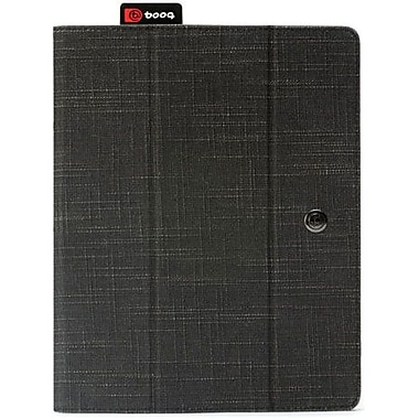 Booq FLI3 Fibre Collection Natural Fiber The New Folio For Apple iPad 2, iPad 3rd Generation, Black