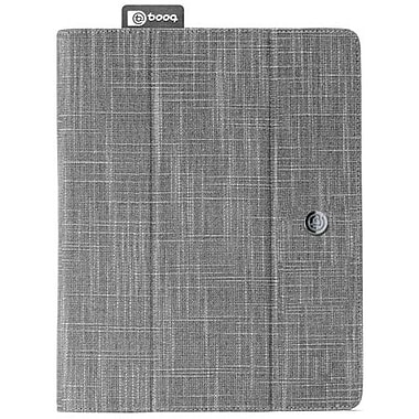 Booq FLI3 Fibre Collection Natural Fiber The New Folio For Apple iPad 2, iPad 3rd Generation, Gray
