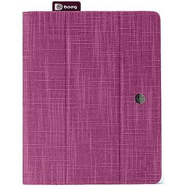 Booq FLI3 Fibre Collection Natural Fiber The New Folio For Apple iPad 2, iPad 3rd Generation, Purple