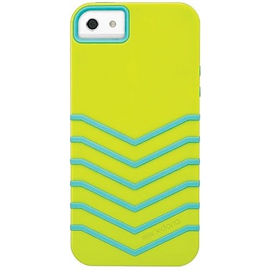 X-Doria 409681 Venue Hybrid Case For iPhone 5, Limon/Aqua