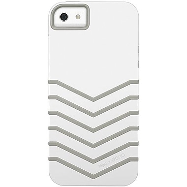 X-Doria 409711 Venue Hybrid Case For iPhone 5, White/Ash