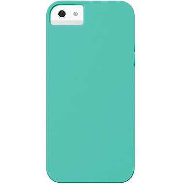 X-Doria 409575 Soft Silicone Case For iPhone 5, Aqua