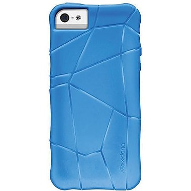 X-Doria 410113 Stir TPU Jelly Case For iPhone 5, Electric Blue